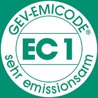 Erläuterung des EMICODE EC1 Siegels