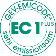 Erläuterung des EMICODE EC1PLUS Siegels
