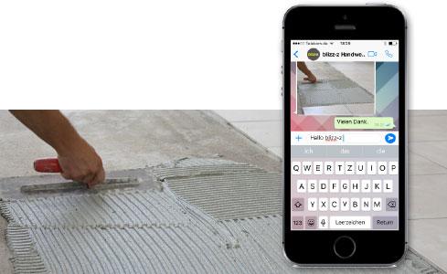 blizz-z jetzt auch über WhatsApp zu erreichen